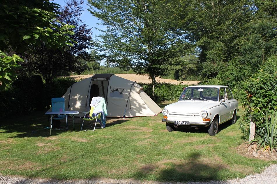 small family campsite